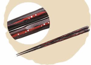 Kihada Chopsticks, Droplets [23cm]