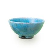 佳窯 トルコ釉 小飯碗