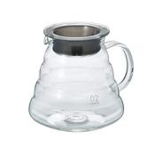 HARIO V60 可加热型咖啡壶 600 透明