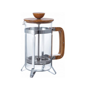 HARIO Coffee Press, Wood (for 4 Servings)