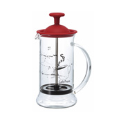 HARIO Coffee Press, Slim S Red