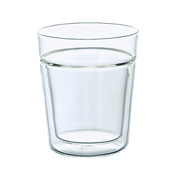 HARIO 双层玻璃威士忌杯 260