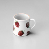 Strawberry Design Mug Cup