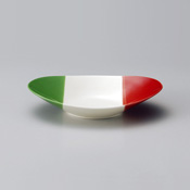 意大利风 椭圆意大利面盘 M