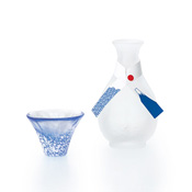 Good Fortune Cup Mt. Fuji Sake Set