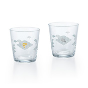 Pair Glass Set (Sea Bream Pattern)