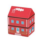 [便當盒] 屋型便當盒 木屋 RD