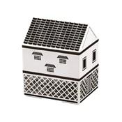 [便當盒] 屋型便當盒 倉庫 黑牆