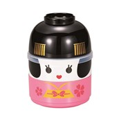 [Bento Box] Kokeshi Two-Tiered Bento, Maiko