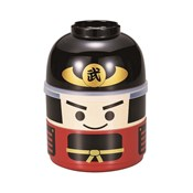 [Bento Box] Kokeshi Two-Tiered Bento, Samurai