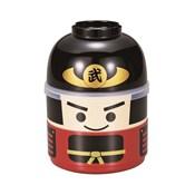 [便當盒] 木娃娃雙層便當盒 武士