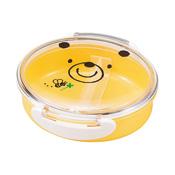 [便當盒] 好朋友系列 扣壓一層式便當盒 小熊