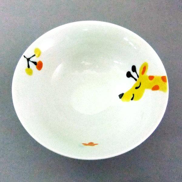 Hasamiyaki Mr. Giraffe Rice Bowl
