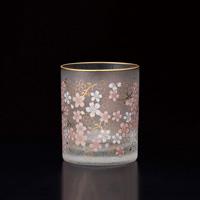 櫻花 復古玻璃杯