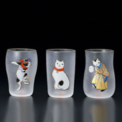 Edo Cat Glass, Craft Beer Set