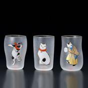 江戸猫グラス クラフトビアセット