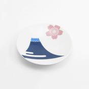 Hasamiyaki, Nippon Teshiozara Plate, Fuji