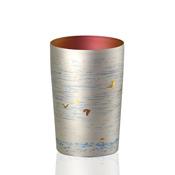 HORIE鈦製杯 朱鷺 小 銀色
