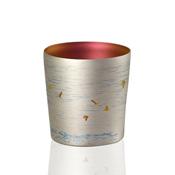 HORIE Titanium Tumbler, Crested Ibis, Mini, Silver