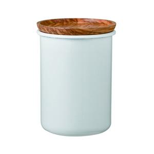 HARIO Bona 珐琅制茶叶&咖啡粉保存罐200