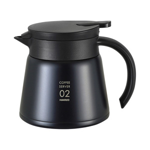 HARIO V60 Thermal Stainless Steel Server 600 (Black)