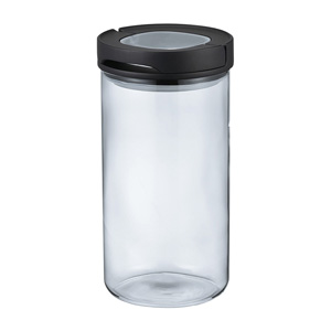 HARIO Sealed Canister L (Black)