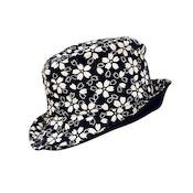Original Reversible Hat, Black / Ivory (Washi Paper Material)