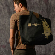 Original Washi Tote Bag, Beige