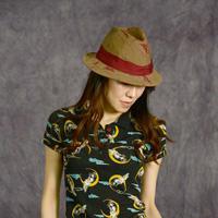 Ladies' Mannish Hat (Moon Rabbit Pattern)