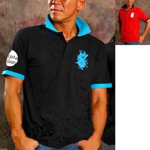 Yumeya Hachiman original dry Kanoko polo shirt Men's