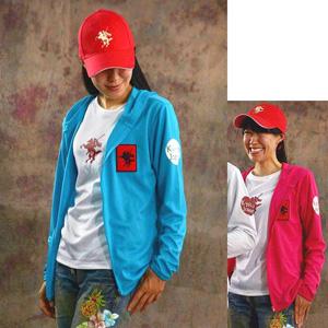Yumeya Hachiman original dry zip up hoodie parka Ladies