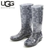 UGG SHAYE BANDANA BLACK (Black) / Rain Boots / Ladies'