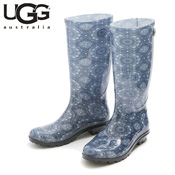 UGG SHAYE BANDANA STONEWASH (Blue) / Rain Boots / Ladies'