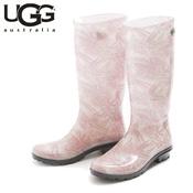 UGG SHAYE ISLAND FLORAL TROPICAL BLUSH (Pink) / Rain Boots / Ladies'