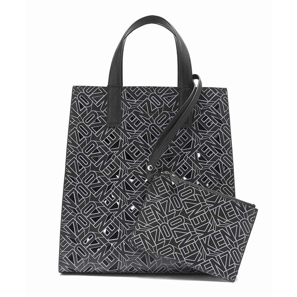 1d8af3ae124 KENZO 2sa601l11-99 Shopping Bag (Black) / Ladies' | JSHOPPERS.com