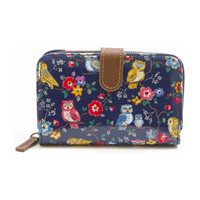 Cath Kidston ca592703 Folded Zip Wallet (Navy) / Ladies'
