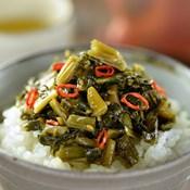 [Rice Topping] Fried Nozawana