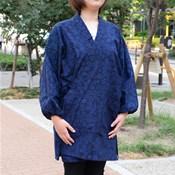Kurume-Gasuri Mizuyagi (Women's) One-Size-Fits-All