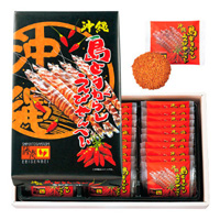 Okinawan Island Chili Pepper Shrimp Rice Crackers (Large)
