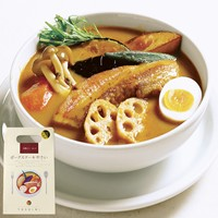 [Hokkaido Only] YOSHIMI Soup Curry [Pork Steak Vegetables]