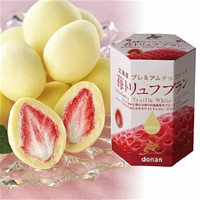 Strawberry Truffle White Chocolate