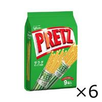 Ezaki Glico Pretz Salad (9 Bags) 143g x 6