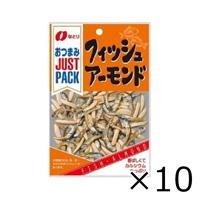 なとり JUSTPACK フィッシュアーモンド 19g x 10袋