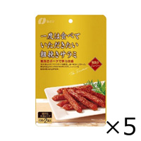 Natori Coarse-Ground Salami 60g x 5 Bags
