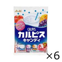 Asahi Group Foods Calpis Candy 100g x 6 Bags