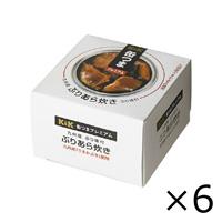 K&K 缶つまプレミアム 九州ぶりあら炊き 150g x 6個