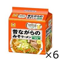 Maruchan Classic Miso Ramen 5 Servings x 6