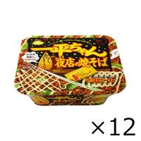 Myojo Ippeichan Night Stall Yakisoba Cup 135g x 12