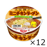 Nissin Foods Chicken Ramen Donburi Mini, 38g x 12