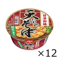 Nissin Foods Gozen Tempura Soba Cup, 86g x 12